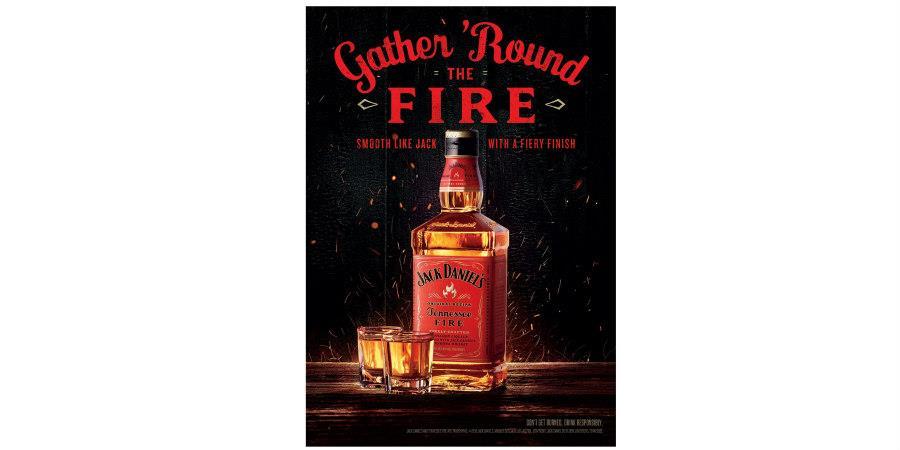 ded53fbb29 JACK ON FIRE   Η εξαιρετικά απαλή και καυτή γεύση της κανέλας συναντά το  Jack Daniel s Old No.7